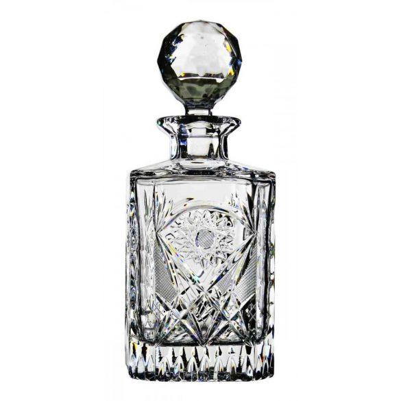 Kőszeg * Ólomkristály Whiskys üveg 800 ml (12362)