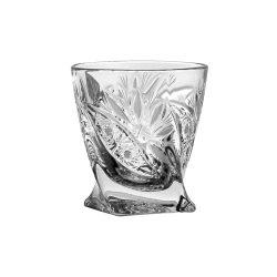 Liliom * Kristály Pálinkás pohár 55 ml (Cs17619)