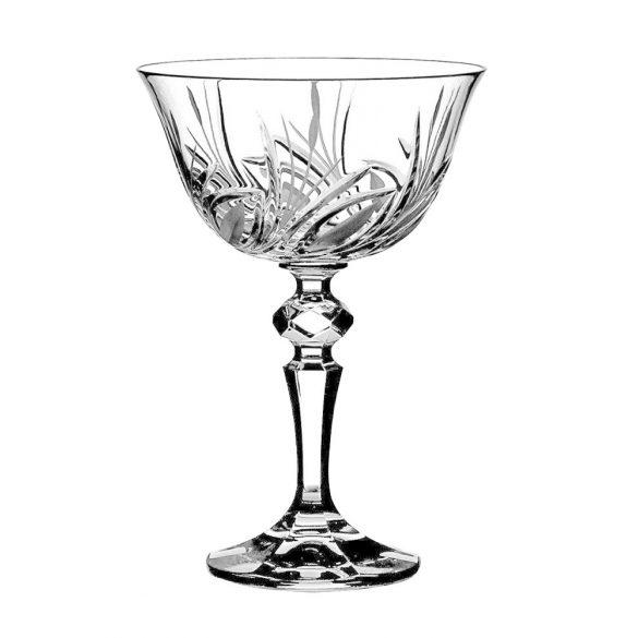 Viola * Kristály Pezsgős pohár 180 ml (LCsé17908)