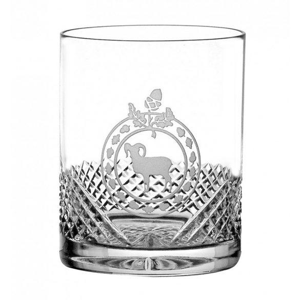 Hunter * Kristály Whiskys pohár 320 ml (Gas18216)
