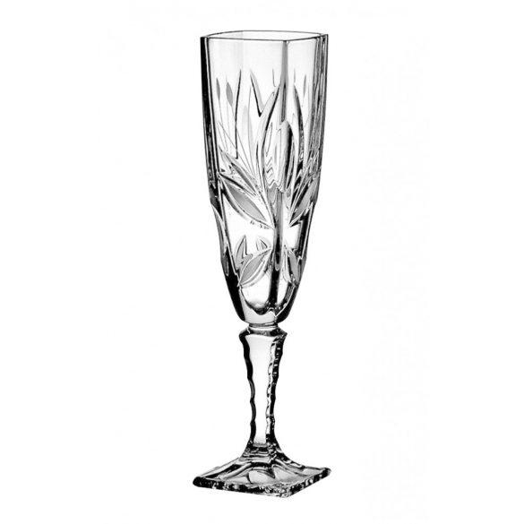 Viola * Kristály Pezsgős pohár 140 ml (Ar19507)