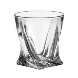 Quad * Kristály Whiskys pohár 340 ml (39842)